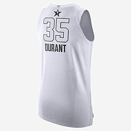 Nike Herren Jordan All-Star Game Swingman NBA Trikot Kevin Durant  35 928874-102 (Größe  48), Weiß schwarz Stitched B07L6Z4V2K   Verpackungsvielfalt