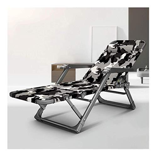 N/Z Home Equipment Liegestühle Klappliege Sommer Freizeitstuhl Outdoor Tragbarer Stuhl Büro Mittagspause Stuhl Home Elderly Stuhl Sun Lounger Beach Chair