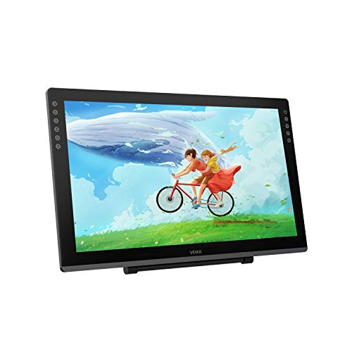VEIKK VK2200 21.5 Inch Graphic Drawing Monitor Full-Laminated Technology Pen Display with 8192 Levels Pen Pressure(6 Customizable Touch Keys)