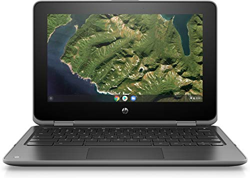 "HP Chromebook X360 11 G2 EE 11.6"" Touchscreen 2 in 1 Chromebook - 1366 X 768 - Celeron N4000-4 GB RAM - 32 GB Flash Memory - Chrome OS 64-bit - Intel UHD Graphics 600 - Brightview, in-Plane Swi"
