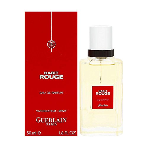 Guerlain Habit Rouge Eau de Parfüm, 1er Pack (1 x 50 ml)