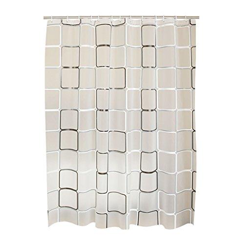Gehobene Individualität Duschvorhang, Dicker wasserdicht Vermeiden Sie Mehltau abgeschnitten PEVA Material Duschvorhänge 80x180cm, 120x200cm, 180x200cm, 180x220cm, 240x190cm, Persönlichkeit nordischen