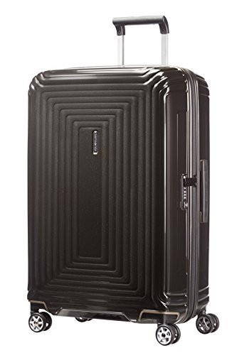 Samsonite Neopulse - Spinner M Koffer, 69 cm, 74 L, schwarz (Metallic Black)