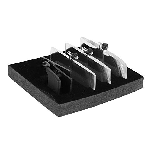 1.5X 2.5X 3.5X Vergroting Plastic Case Clip-on Bril Type Vergrootglas