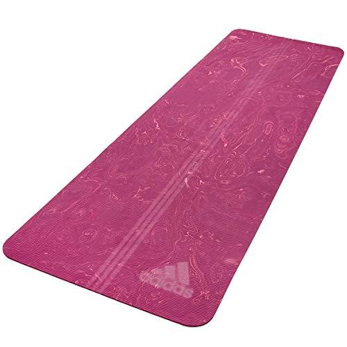 adidas Esterilla de Yoga Camo-5mm-Power, Unisex-Adult, Power Berry
