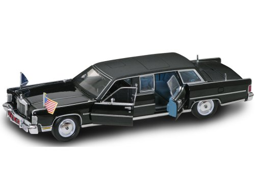 Yat Ming Scale 1:24-1972 Lincoln Continental Reagan Car