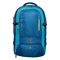 Aristocrat 45 Ltrs Teal Blue Rucksack (Duro),VIP Industries Ltd,Duro