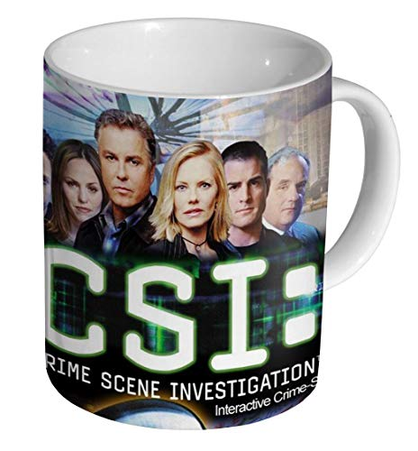 CSI Tatort Investigation Keramik Kaffeetasse Tasse