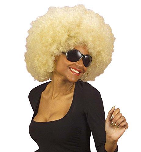 Générique - Pe532/ Blond - Perruque Super Afro Blond - Taille Unique
