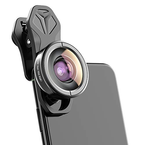 Apexel HD Phone Camera Lens-170 Gradi Obiettivo Super-grandangolare per iPhone, Pixel, Huawei, Xiaomi e telefoni Samsung Galaxy Camera