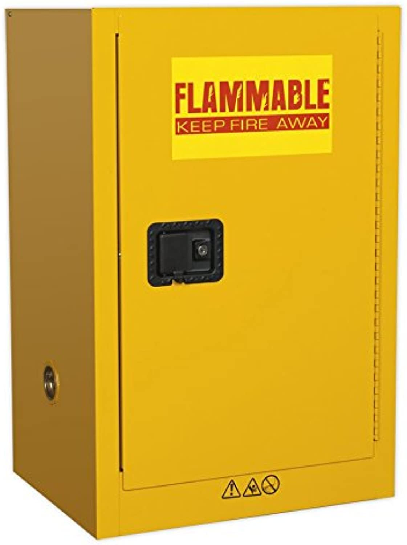 SEALEY fsc07 flammables Schrank 585 x 455 x 890 mm – rot B072B6W7P6 | Perfekt In Verarbeitung