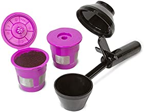 ECO-Fill Value Pack by Perfect Pod | Reusable K-Cup Pod Filters & Coffee Scoop, Compatible with Keurig K-Duo, K-Mini, 1.0, 2.0, K-Series and Select Single Cup Coffee Makers