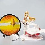Sword Art Online Asuna Yūki Asuna Anime Figurine Wugou White 25 cm (9 85in) / Estatua de PVC estática / Fans favoritas D Anime y Otaku Collection