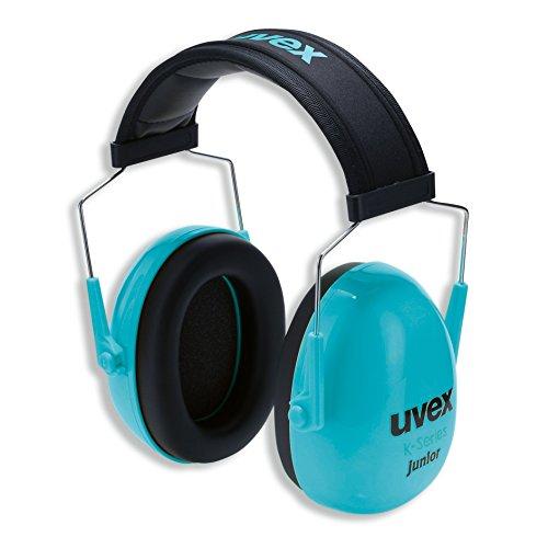 Kapselgehörschutz Uvex K Junior Schwarz-Blau