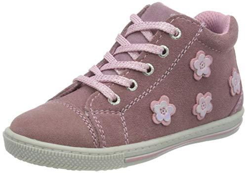 Lurchi Jungen Mädchen BEBA Sneaker, Wildberry, 24 EU