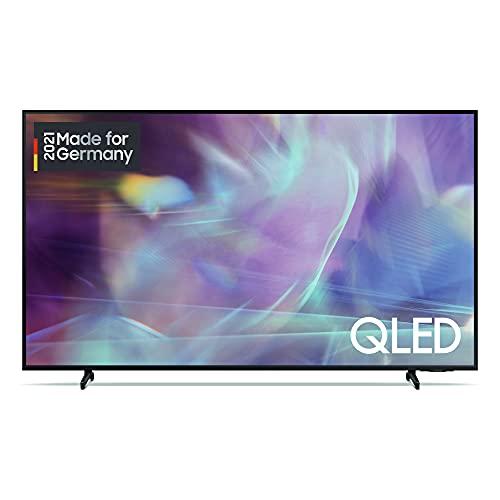 Samsung QLED 4K Q60A TV 55 Zoll (GQ55Q60AAUXZG), Quantum HDR, Quantum Prozessor Lite 4K, 100% Farbvolumen [2021]