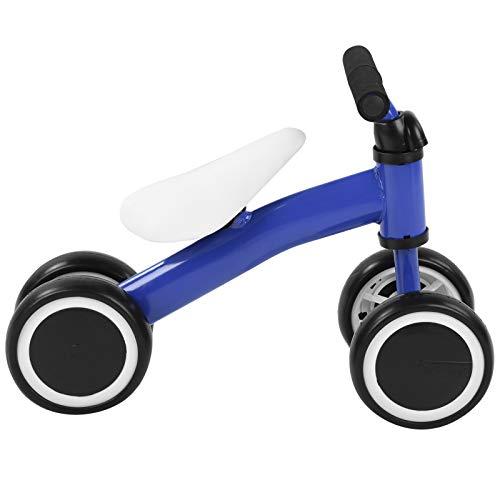 Aoutecen Los niños empujan la Vespa del Equilibrio del bebé de la Vespa de la Aptitud al Aire Libre de los niños de los Juguetes de los niños Regalo(Blue)
