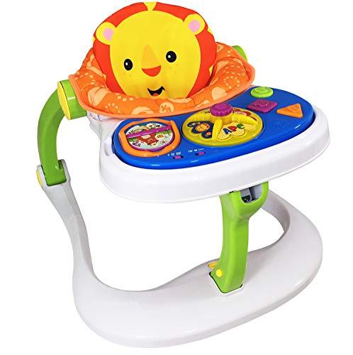 Warez Baby Walker 4 en 1 Uso como juguete de empuje, actividad y entretenimiento, multifuncional para bebés de 1 a 3 años