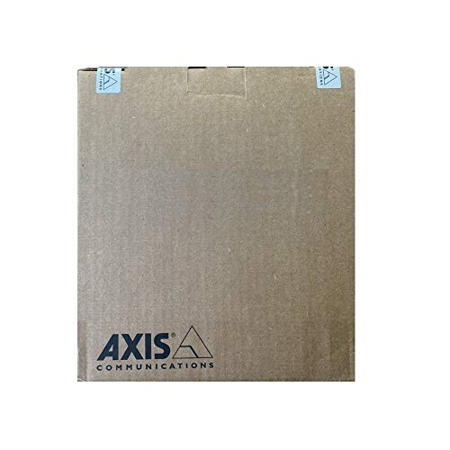 Axis Communications Panoramic Camera - Dome - Color - 8.3 MP - 4320 x 1920-4K - Fixed Focal - Audio - GbE - MJPEG, H.264, AVC - PoE Class 3