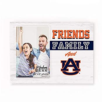 Friends Family and Auburn University Tigers 2 x 3 Wood Tabletop Photo Frame