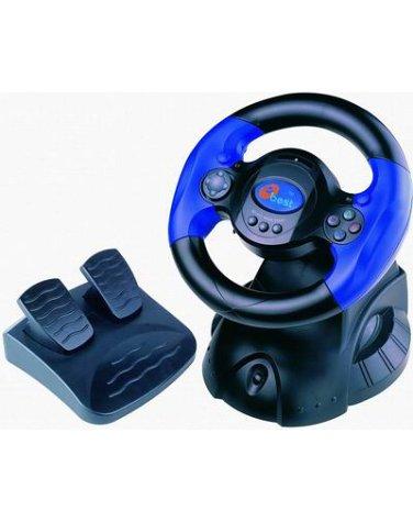 Playstation 2 - Lenkrad 5in1 e-Wheel