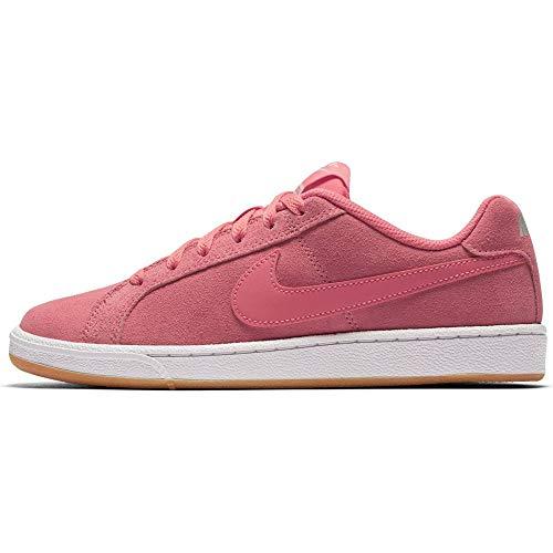 Nike Wmns Court Royale Suede, Scarpe da ginnastica Donna, Rosa (Sea Coralsea Coralgum Light 800), 36 EU