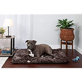 Furhaven Pet Kennel Pad   Orthopedic Pet Mattress for Crates & Kennels Styles