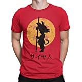 Camisetas La Colmena 164 Looking for The Dragon Balls (ddjvigo) (Roja, S)