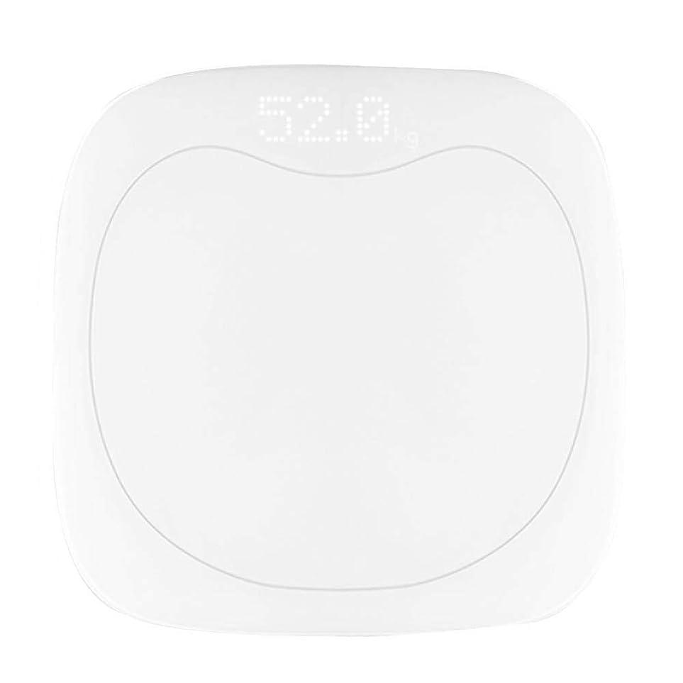 符号繰り返す意志バスルームスケール滑り止め超薄型バックライトディスプレイ高精度デジタル体重体脂肪計