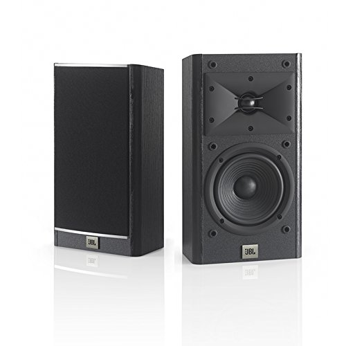 JBL Arena 120 Black 2-Way 5.5-Inch Wall-mountable Bookshelf Loudspeakers (Black)