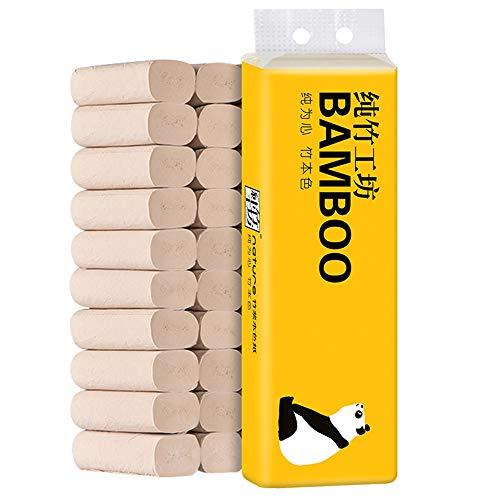 CHENYAO Huishoudelijke Kernloze Rol Papier Bamboe Pulp Wc-papier Geen Afdrukken Milieubescherming Toiletpapier Papieren Handdoek (10 Volumes)