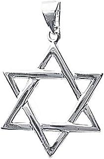 Midi Minimalista Knuckle Banda 1 Mm Apilables Estrella David Religiosa Para Adolescentes Con Anillo Plata Esterlina 925