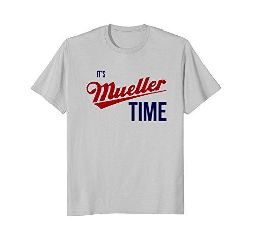 It's Robert Mueller Time Resist Anti Trump Tee Shirt
