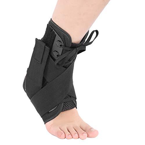 Oddychająca orteza stawu skokowego, regulowana opaska na kostkę rękaw kompresyjny dla mężczyzn i kobiet - 3 rozmiar Opcjonalnie(M)