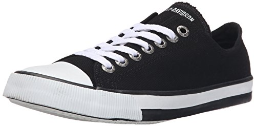 Harley-Davidson Women's Zia Vulcanized Shoe, Black, 7.5 M US