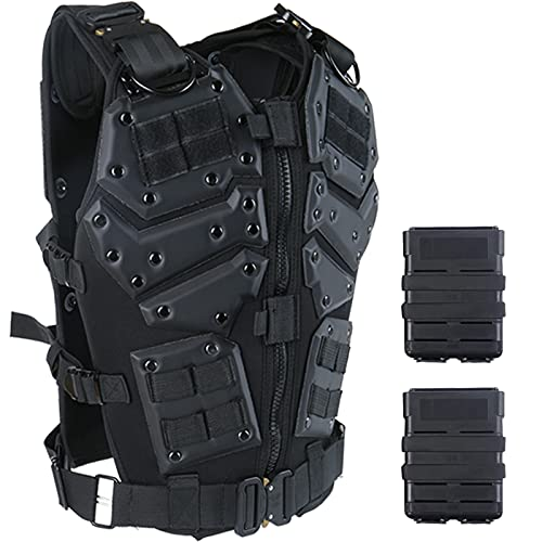 ACTIONUNION Adjustable Tactical Vest Suit for Airsoft...