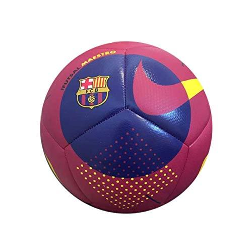 NIKE FC Barcelona Temporada 2020/21-FCB NK Futsal MAESTRO-FA20CQ7881-620 Balón de Fútbol, Unisex, Noble Red/Loyal Blue/(Varsity Maize), Pro