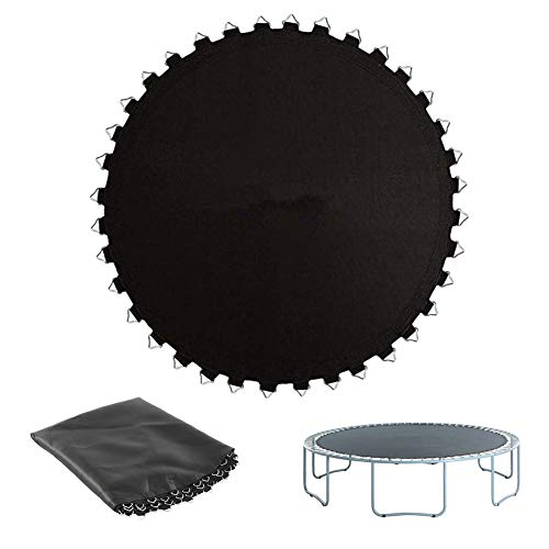 BIN 10ft Garden Round Trampoline Replacement Jumping Mat Suitable for Round Trampoline Frame Springs Not Included,10 feet in diameter (56)
