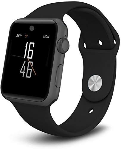 SmartWatch-Trends - Uhr Voller Touch Screen mit Schrittzähler - Schlaftracker Pulsuhren Stoppuhr - für Damen Herren Smart Watch - für iOS Android Handy
