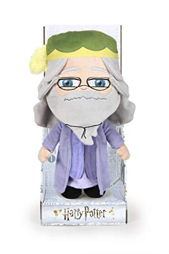 Famosa Softies - Dumbledore Ministero della Magia Carattere Peluche, 28 cm, Colore Multicolore, 760018188