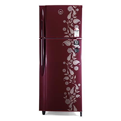 Godrej 236 L 2 Star ( 2019 ) Frost Free Double Door Refrigerator(RF GF 2362PTH Scr Drmn, Scarlet Dremin)