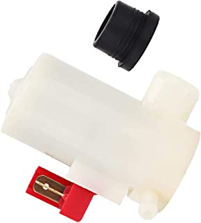BFHCVDF Electric Dual Outlet Windscreen Washer Pump For Mitsubishi Suzuki Kia Acura Black