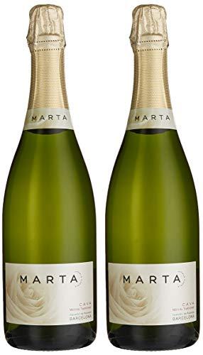 Marta Canals Brut, Spanischer Cava/Schaumwein, 2er Set (2 x 0.75 l)
