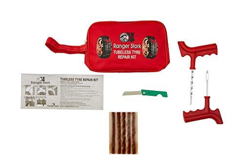 Kit de réparation pour crevaison sur voiture ou van avec 5 bandes