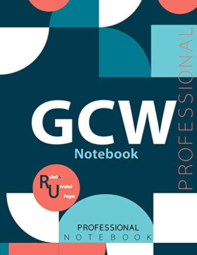 """GCW Notebook , Examination Preparation Notebook, Study writing notebook, Office writing notebook, 140 pages, 8.5"""" x 11"""", Glossy cover"""