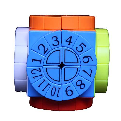 Time Machine Cube 2x2 Compuesto Estructura Velocidad Suave Regalo Creativo Juguetes Educativos