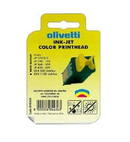 Olivetti Cartucho Inyeccion Tinta Color Fpj26 Ofx/1000/1900/2100/3100 Lab/270 Jet Lab/500 Jp/170/190/360/450 ✅
