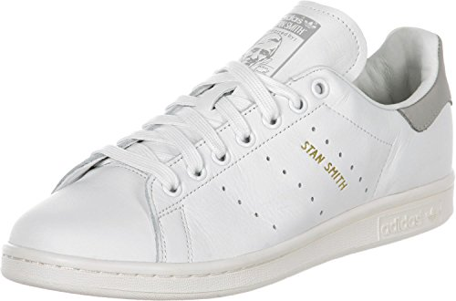 Adidas Stan Smith Schuhe, weiß - Weiß / Grau - Größe: 36 2/3 EU