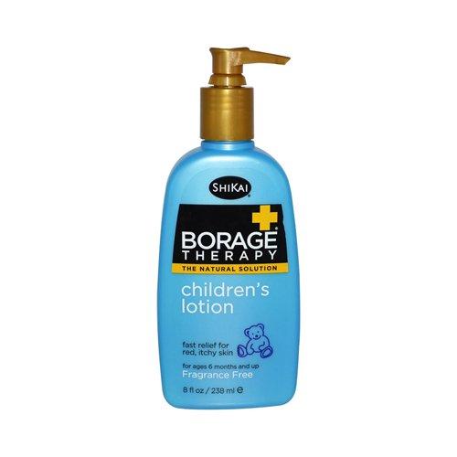 Shikai: Borage Dry Skin Therapy, Children's Lotion 8 oz (2 pack) by Shikai