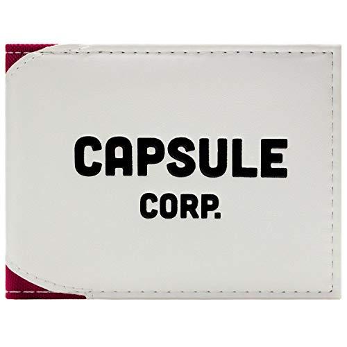 Dragon Ball Z Capsule Corp Portafoglio Bianca